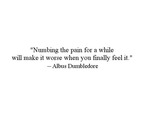 pain dumbledore
