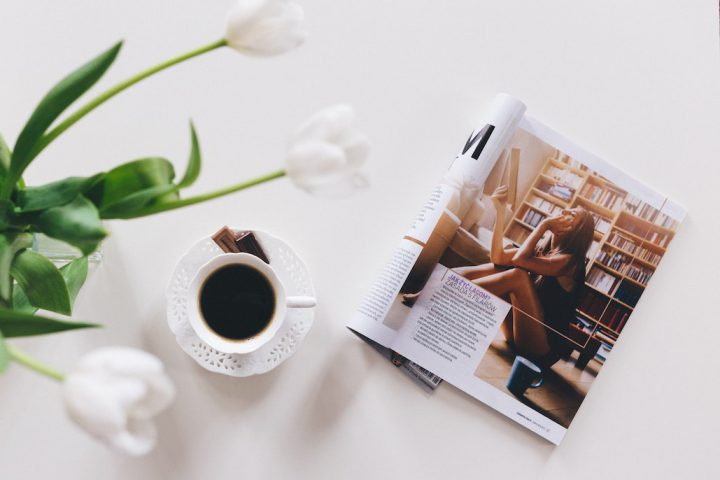 Black Coffee & Magazine