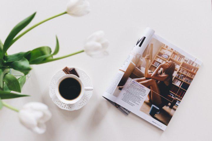 Black Coffee & Magazine